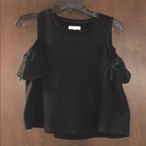 Madewell Cold-Shoulder Top